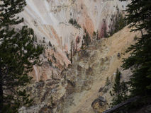 Grand Canyon of the Yellowstone Stock Photos