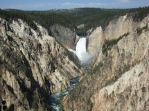 Grand Canyon of the Yellowstone Stock Photo