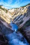 Grand canyon of Yellowstone Stock Image