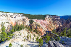 Grand Canyon of the Yellowstone View Stock Image