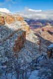 grand canyon zimy Fotografia Royalty Free