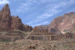 Grand- Canyonansicht Stockfotos