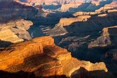 Grand Canyonhopipunkt Arkivfoton