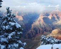 Grand- Canyonleuchte stockfotografie