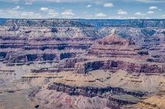 Grand Canyonliggande Arkivbild