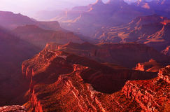 Grand- Canyonmorgen Stockfotos