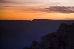 Grand Canyonmorgon arkivbild