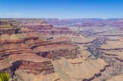Grand Canyonnationalpark Arkivfoto