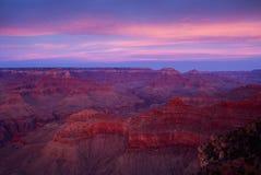 Grand Canyonnationalpark Fotografering för Bildbyråer