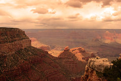 Grand- CanyonNationalpark, USA Stockbild
