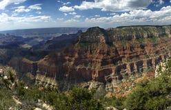 Grand- Canyonnordfelge Stockbilder