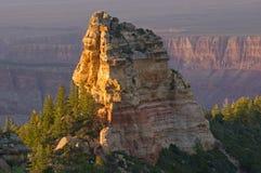 Grand- Canyonnordfelge stockfotografie