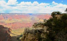 Grand- Canyonnordfelge Stockbild