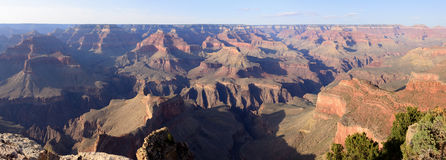 Grand- Canyonpanorama Stockbilder