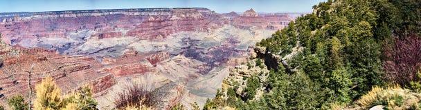 Grand Canyonpanorama Lizenzfreie Stockfotos