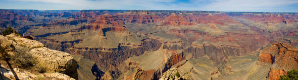 Grand- Canyonpanorama Stockfotografie