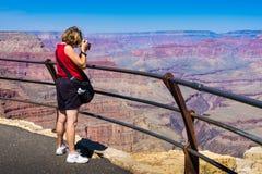 Grand- Canyonphotograph Stockfotos