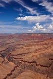 Grand- Canyonsüdfelge übersehen Stockbild