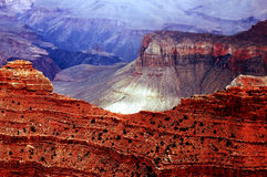 Grand- Canyonsüdfelge Stockfotos