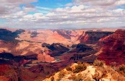 Grand- Canyonsüdfelge Stockbilder