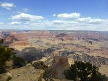 Grand- Canyonsüdfelge Stockfotografie