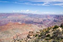 Grand- Canyonsüdfelge Stockfoto