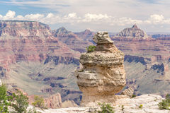 Grand- Canyonsüdfelge Stockfotografie