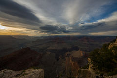Grand Canyons - Sunset  01 Royalty Free Stock Photo