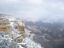 Grand- Canyonschnee Lizenzfreies Stockfoto