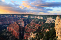 Grand Canyonsonnenaufgang Lizenzfreie Stockfotos