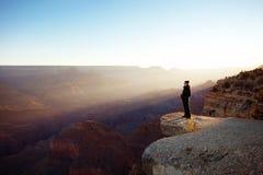 Grand- Canyonsonnenaufgang Lizenzfreies Stockbild