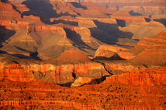 Grand- Canyonsonnenuntergang Stockfotos