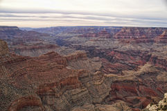 Grand- Canyonsonnenuntergang Stockbild