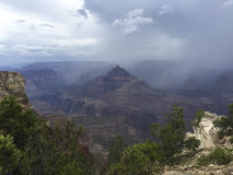 The Grand CanyonSouth Rim from Mather Point 1 Stock Image