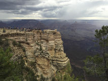 The Grand CanyonSouth Rim from Mather Point 2 Royalty Free Stock Photo
