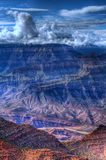 Grand- Canyonsturm Stockfoto