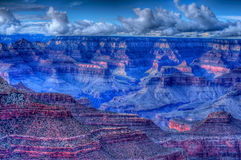 Grand- Canyonsturm Lizenzfreie Stockfotografie