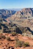 Grand- Canyonwestfelge Stockfotografie