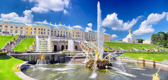 Free Grand Cascade In Pertergof, St.Petersburg Royalty Free Stock Photo - 26300515