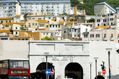 Grand Casemates Gate - Gibraltar. Grand Casemates Gate in Gibraltar Royalty Free Stock Photos