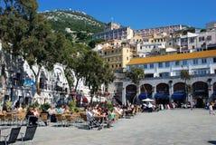 Grand Casemates Square, Gibraltar. Royalty Free Stock Photo
