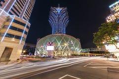 Grand Casino Lisboa in Macau, China Stock Photography
