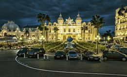 The grand casino in Monaco Royalty Free Stock Image