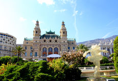The Grand Casino Monte Carlo Royalty Free Stock Images
