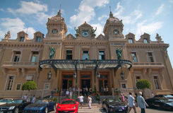 Grand Casino in Monte Carlo Royalty Free Stock Photos
