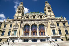 The Grand Casino Monte Carlo Royalty Free Stock Photo