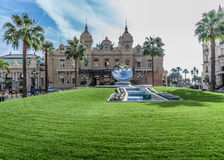 Grand Casino in Monte Carlo, Stock Photography