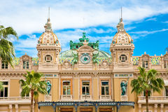 Grand Casino in Monte Carlo, Monaco. Stock Images