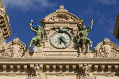Grand Casino in Monte Carlo, Monaco. historical building Stock Images