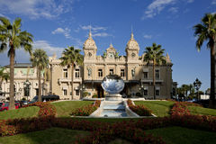 Grand Casino in Monte Carlo, Monaco. historical building Royalty Free Stock Images